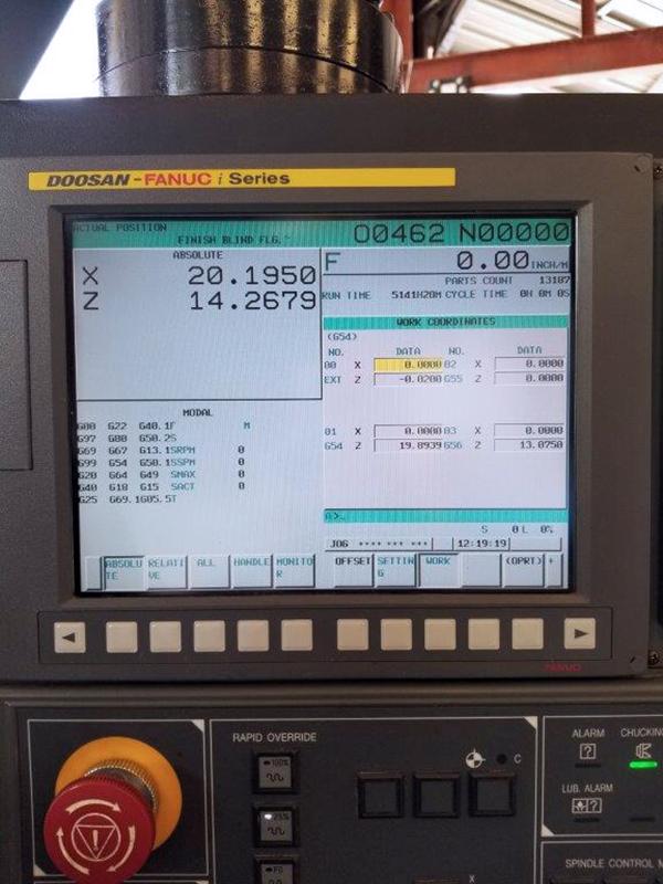 Used CNC Lathe Doosan 400LC 2011