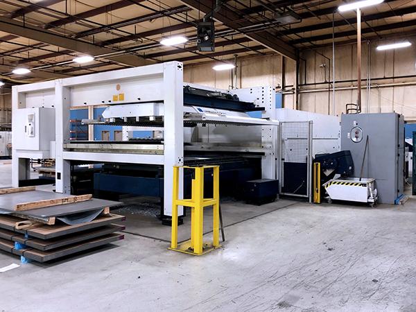 Used Laser Cutting Machine Trumpf TruLaser 5030 Fiber 2015