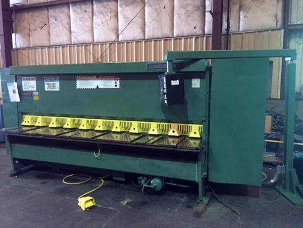 Used Hydraulic Shear  Cincinnati 2500 1991