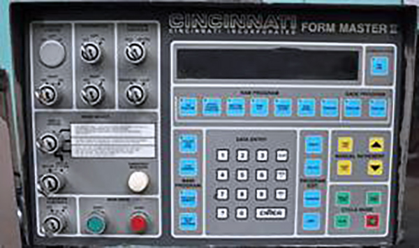 Used Cincinnati Hydraulic Press Brake 135FM II For Sale