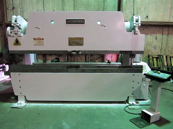 Used Hydraulic Press Brake Accurpress 710010 1998