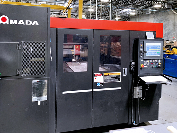 Used Laser Cutting Machine Amada LCG 3015 2015