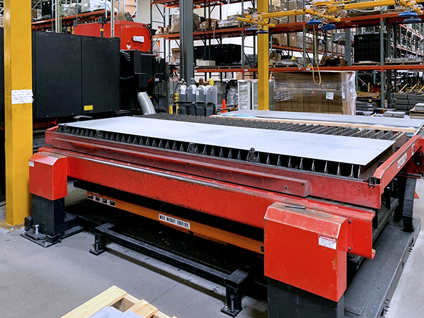 Used Laser Cutting Machine Amada LCG 3015 2015