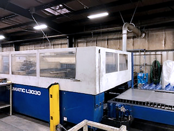 Used Laser Cutting Machine Trumpf Trumatic L3030 2000