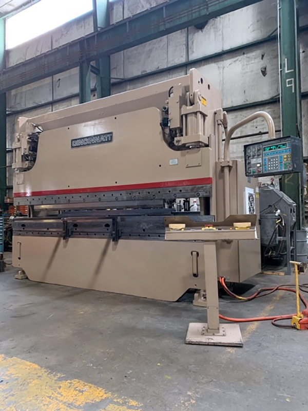 Used Hydraulic Press Brake Cincinnati 90FM-II X 10