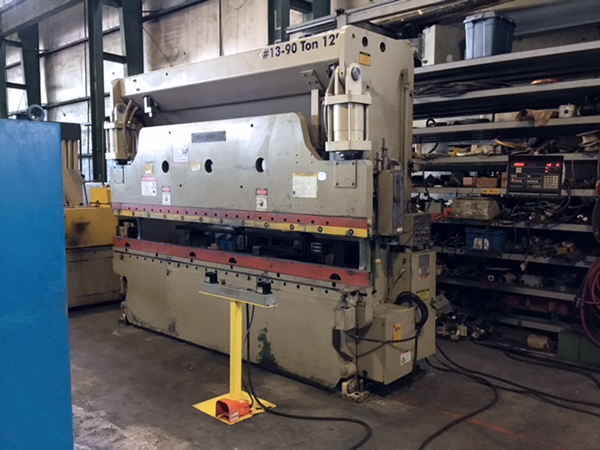 Used Hydraulic Press Brake Cincinnati 90CB10