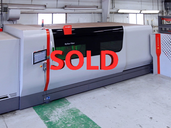 Used Laser Cutting Machine Bystronic ByStar 3015 2016