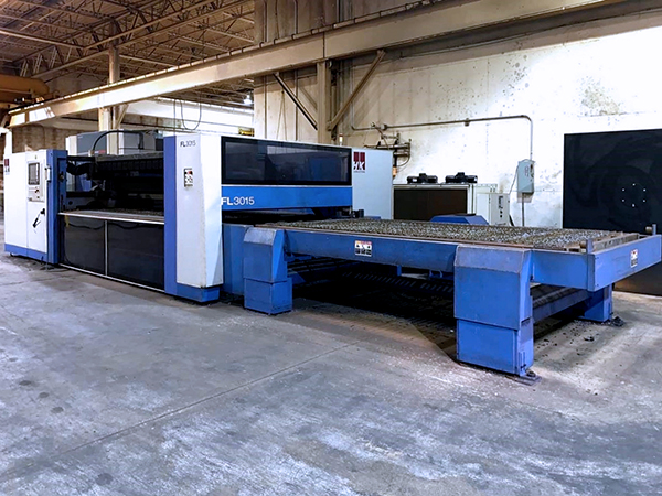 Used Laser Cutting Machine HK FL3015 2015