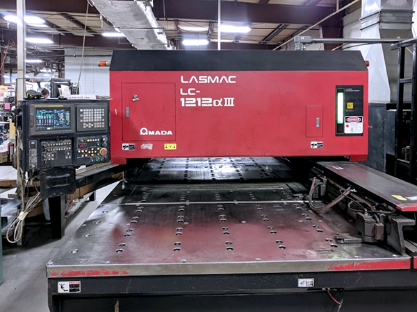 Used Laser Cutting Machine Amada Pulsar LC1212A3 2001