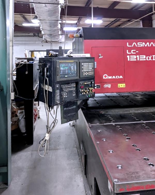 Used Laser Cutting Machine Amada Pulsar LC1212A3 2001