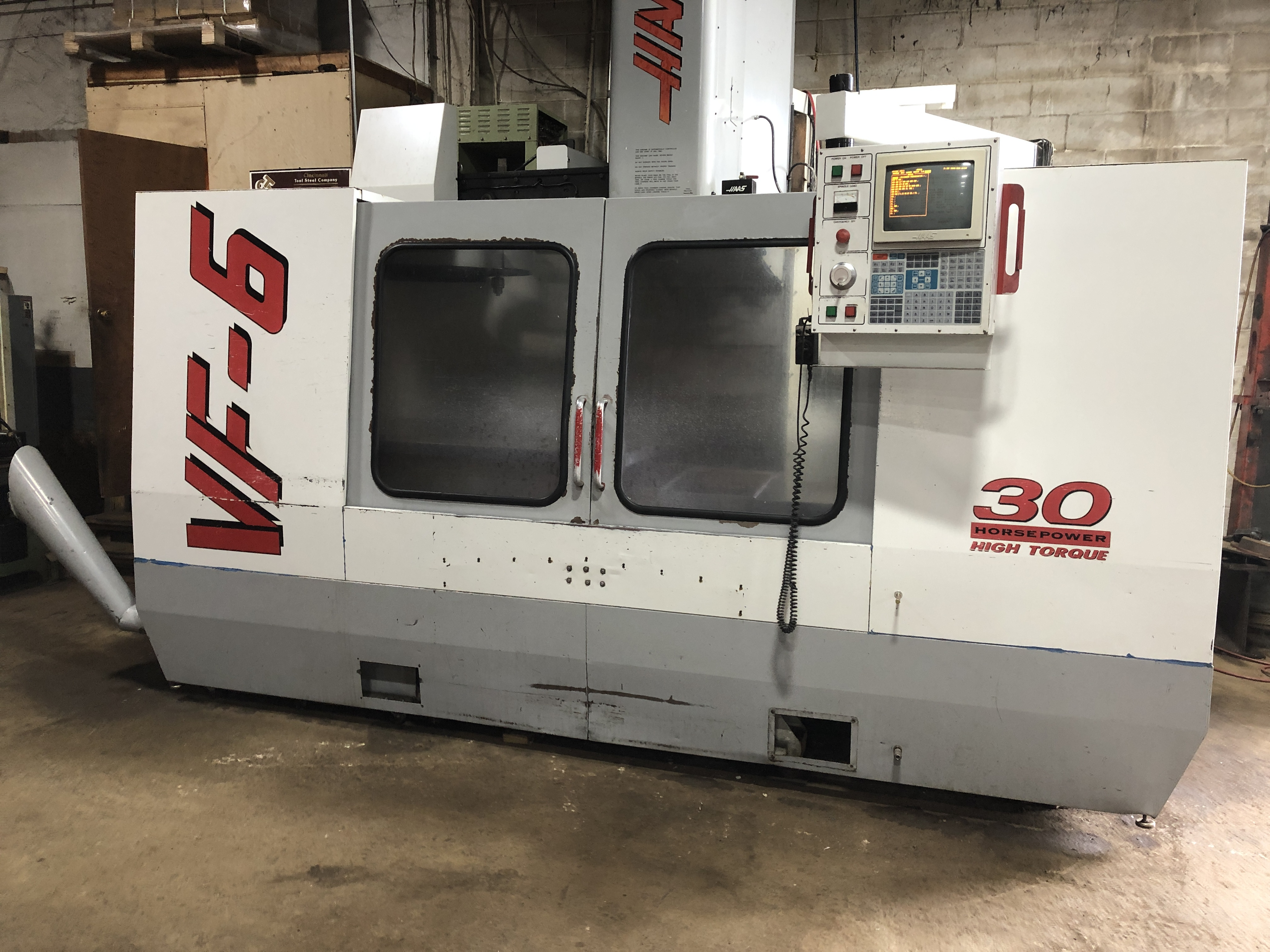 Used Vertical Machining Center Haas VF-6 1997