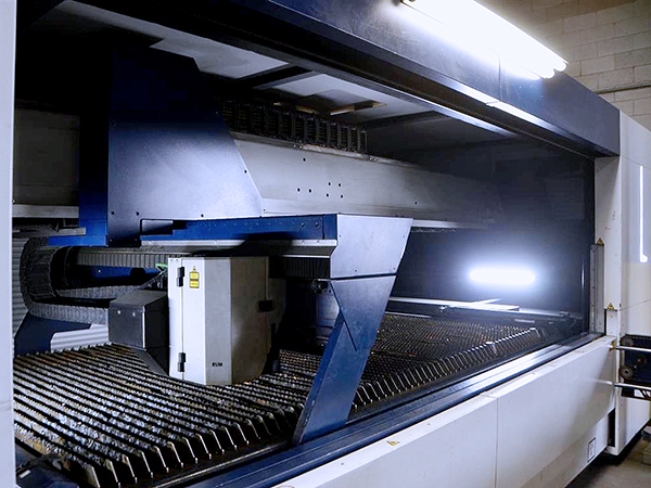 Used Laser Cutting Machine Trumpf TruLaser 1030 L46 2015