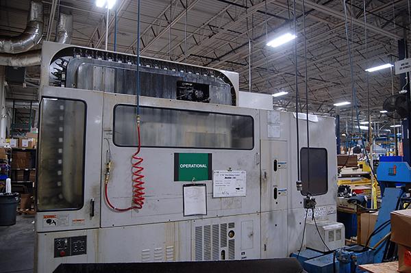Used Horizontal Machining Center Mazak FH-4800 1996