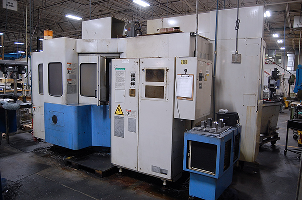 Used Horizontal Machining Center Mazak FH-4800 1996