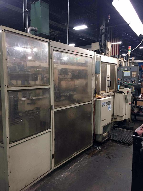Used CNC Multi-Spindle Lathe Kitako MT4-200 2005