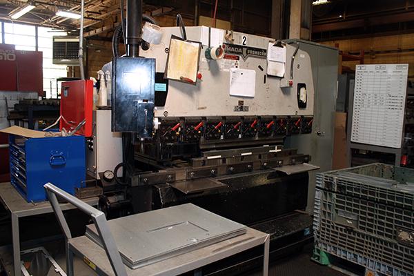 Used Hydraulic Press Brake Amada RG 80 1988