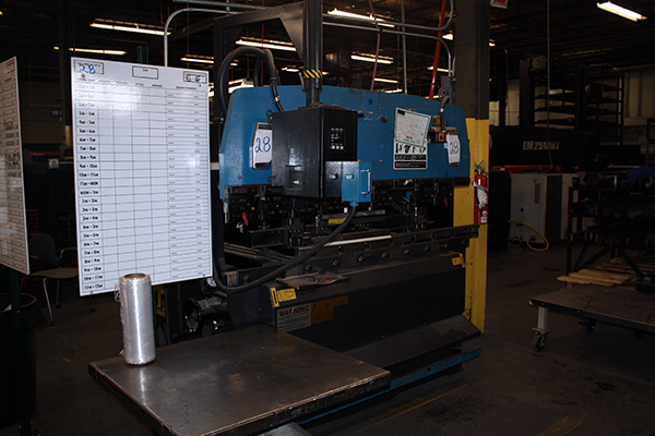 Used Hydraulic Press Brake Amada RG 50 1998