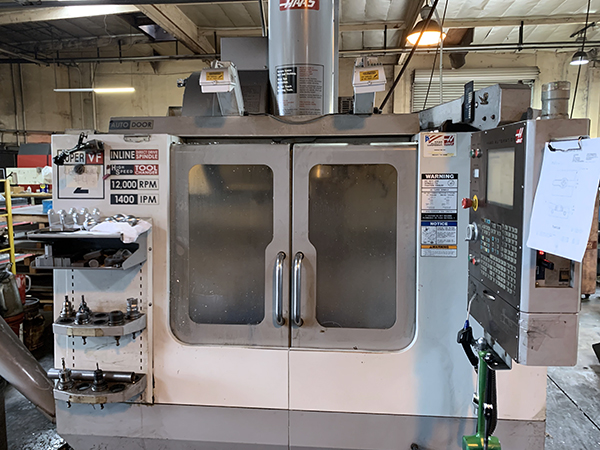 Used Vertical Machining Center Haas VF-2SS 2006