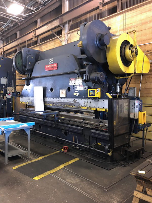 Used Mechanical Press Brake  Cincinnati 21 x 11 1975