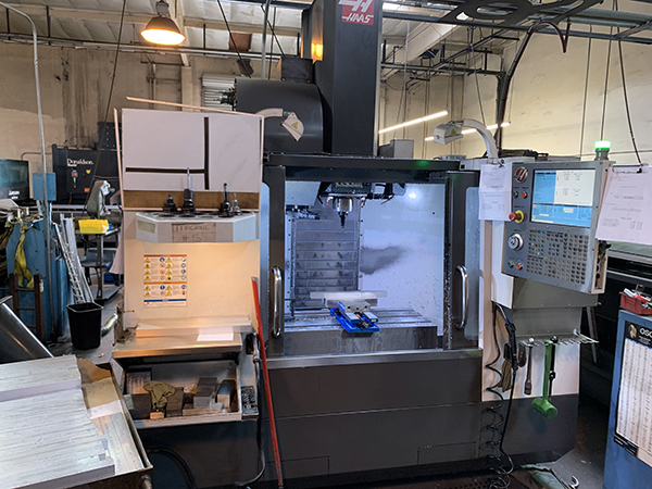 Used Vertical Machining Center Haas VF-2 2013