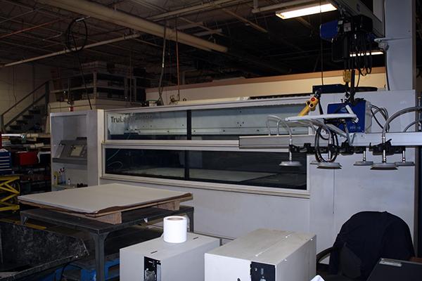 Used Laser Cutting Machine Trumpf Trulaser 1030 2009