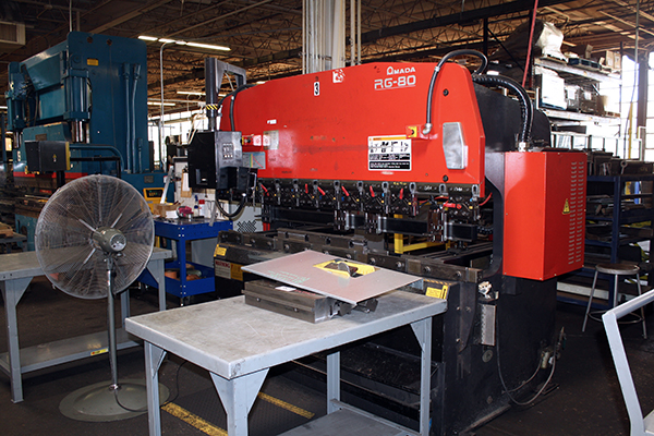 Used Hydraulic Press Brake Amada RG 80 1998