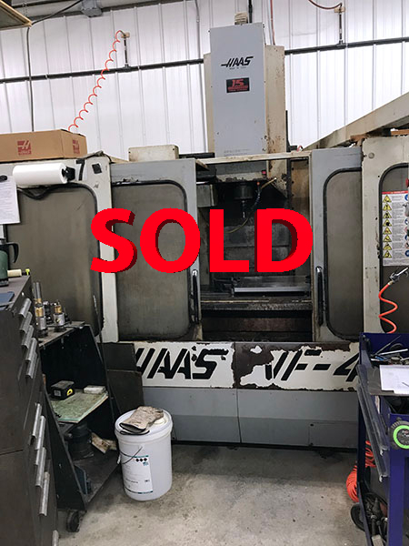 Used Vertical Machining Center Haas VF-4 1994