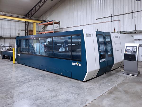 Used Laser Cutting Machine Adira LP4020 2012