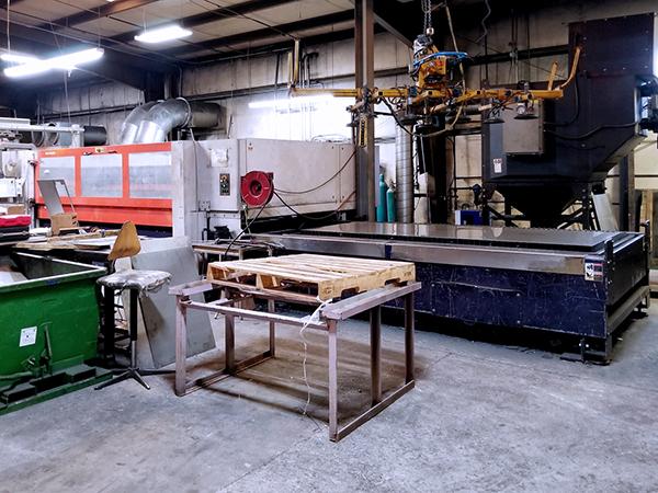 Used Laser Cutting Machine Bystronic Bystar 3015 2005