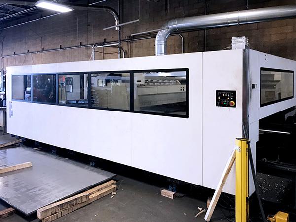 Used Laser Cutting Machine Mazak Optiplex 4020 2016