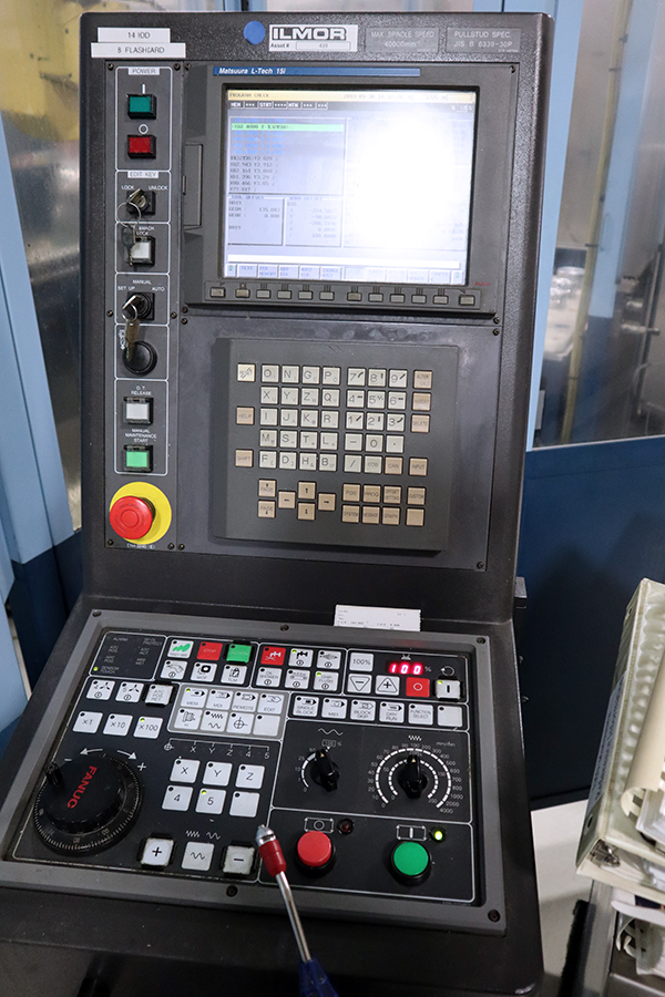 Used 5 Axis Machining Center Matsuura LX-0 5AX 2003