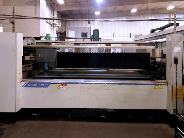 Used Laser Cutting Machine Mitsubishi ML3015 LVP(S) 2005