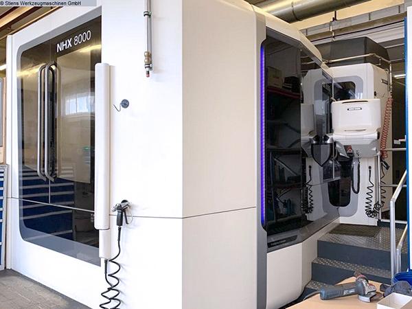 Used Horizontal Machining Center DMG Mori NHX-8000 2016