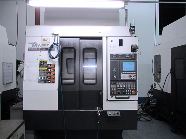 Used Vertical Machining Center Hyundai I-CUT380TD 2012