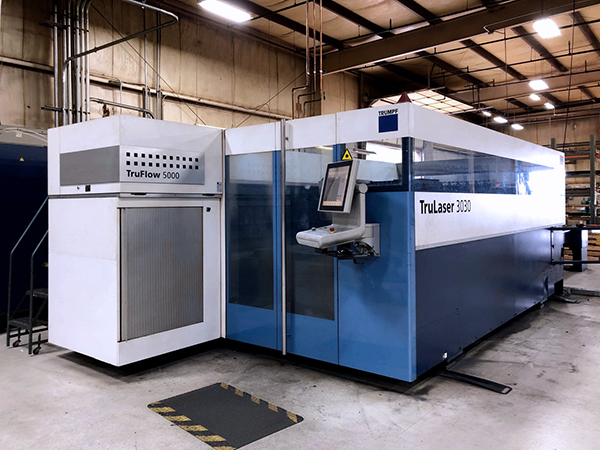 Used Laser Cutting Machine Trumpf TruLaser 3030 2012