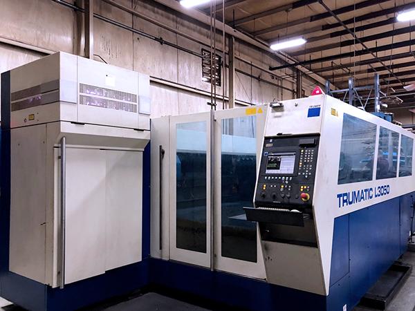 Used Laser Cutting Machine Trumpf Trumatic L3050 2006