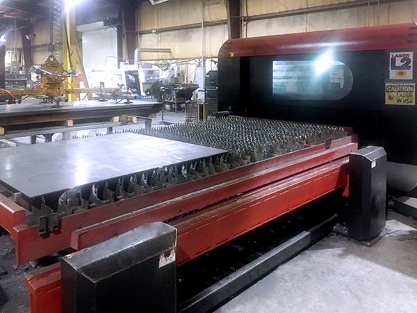 Used Laser Cutting Machine Amada LC3015 F1 NT 2014