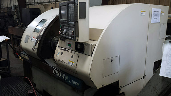 Used CNC Lathe Okuma Crown L1060 2000