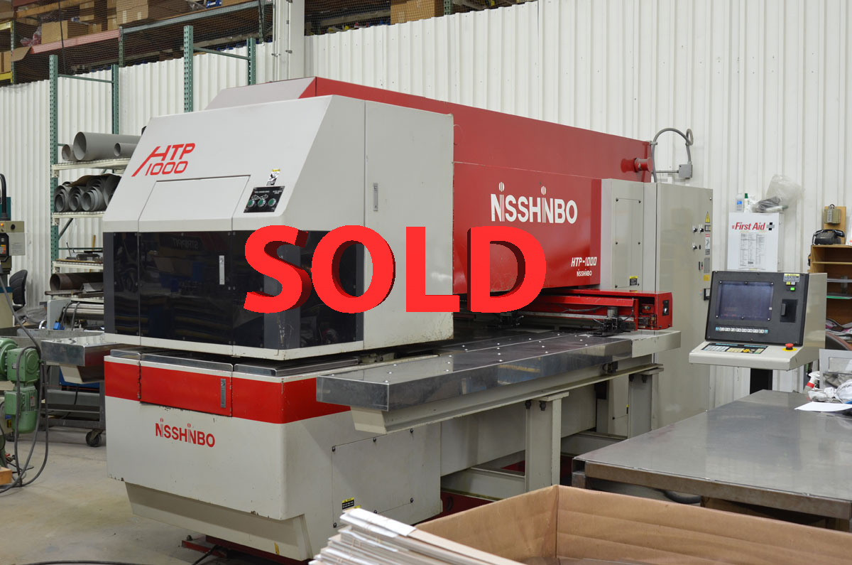 Used Turret Punch Nisshinbo HTP-1000 1997