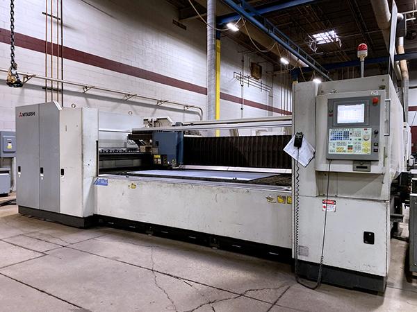 Used Laser Cutting Machine Mitsubishi ML3015 LVP 2002