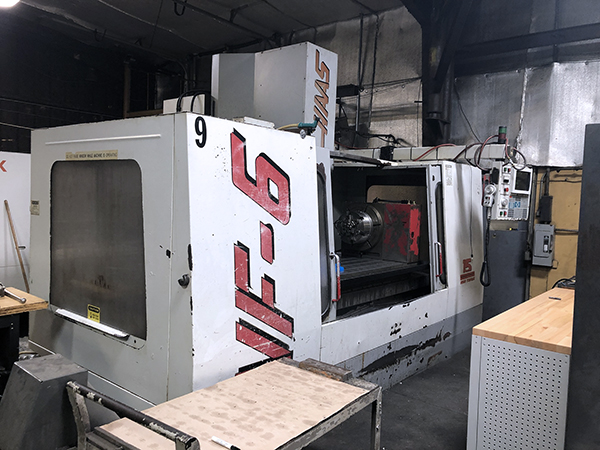 Used Vertical Machining Center Haas VF-6/40 1996