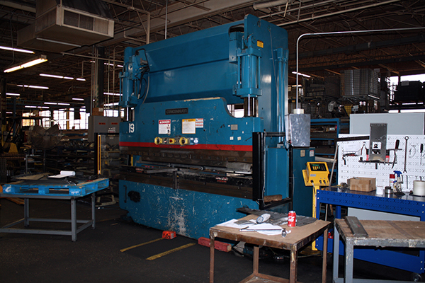 Used Hydraulic Press Brake Cincinnati 90CBIIX8 1998