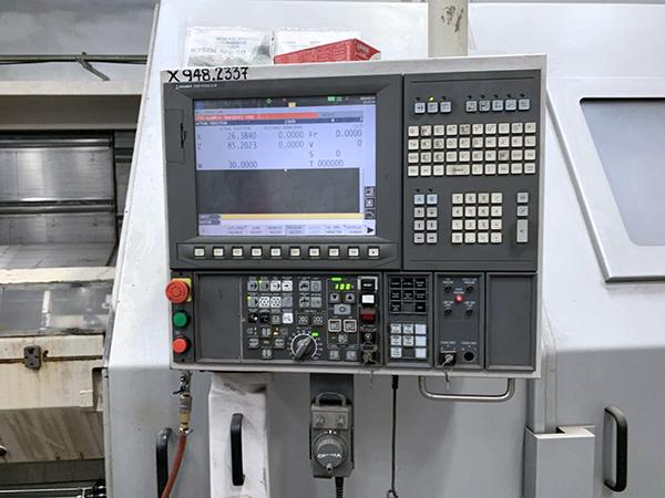 Used CNC Lathe Okuma LB45II-R/3000 2012