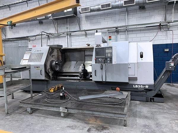 Used CNC Lathe Okuma LB35II-R/2000 2012