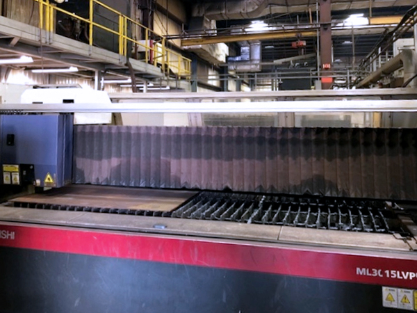 Used Laser Cutting Machine Mitsubishi ML3015LVP(S) 45CF-R 2011