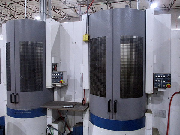 Used Horizontal Machining Center Mori Seiki Cell W/ Linear Pallet Pool 2000; 2001; 2001