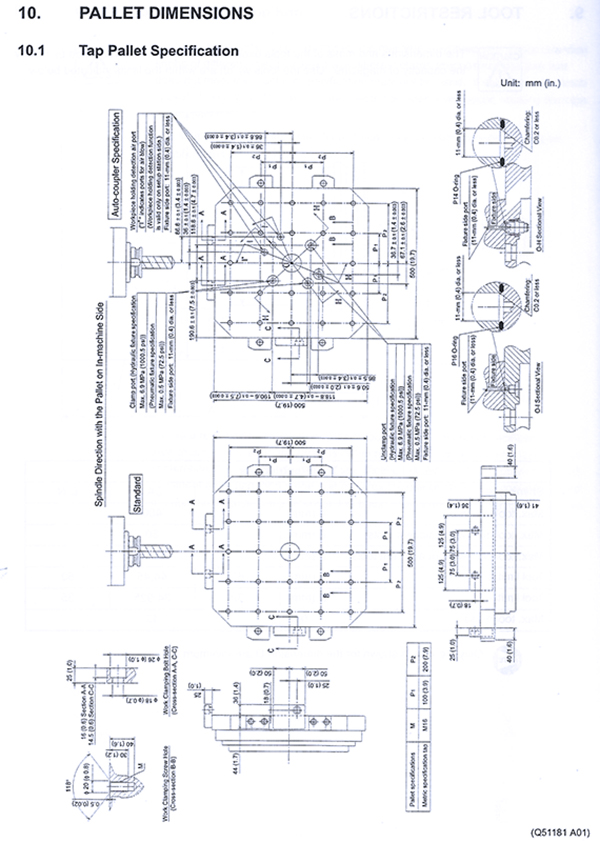 Used Horizontal Machining Center Mori Seiki Cell W/ Linear Pallet Pool 2000; 2001; 2001