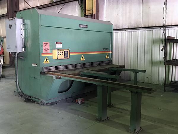 Used Hydraulic Shear  AccurShear 850010 1996