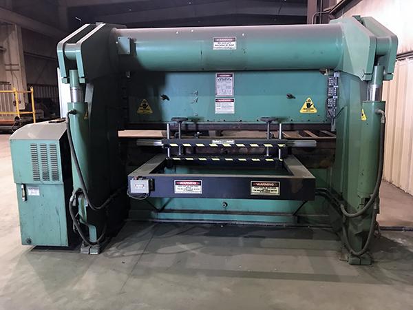 Used Hydraulic Press Brake Accurpress 725010 1996