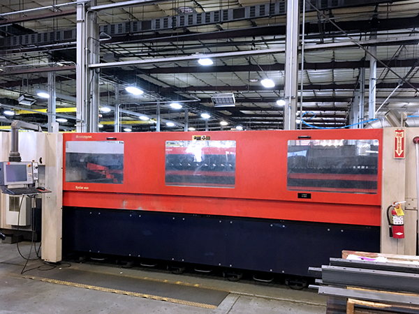 Used Laser Cutting Machine Bystronic Bystar 4020 2005